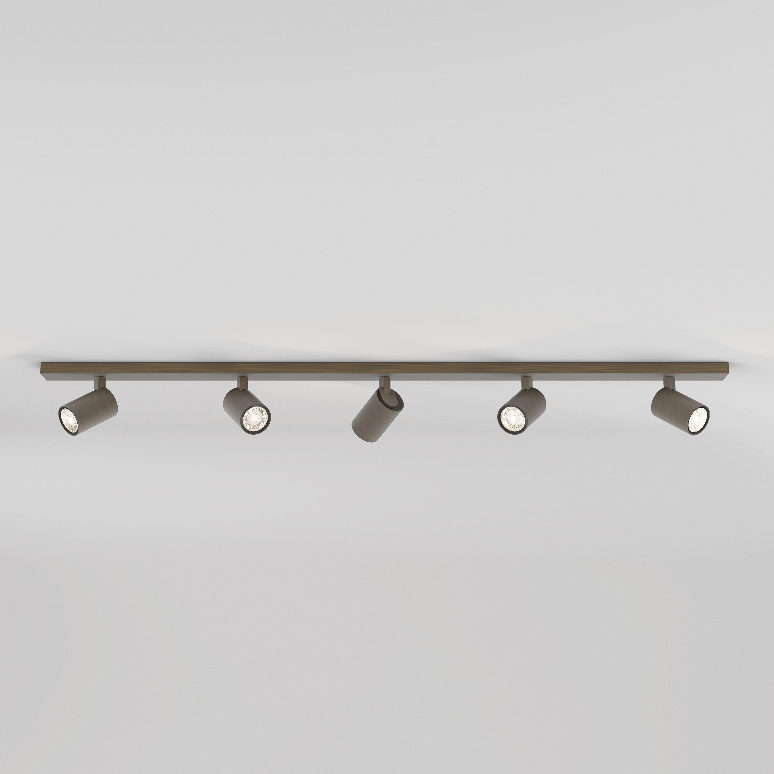 Astro Ascoli Five Bar opbouwspot brons